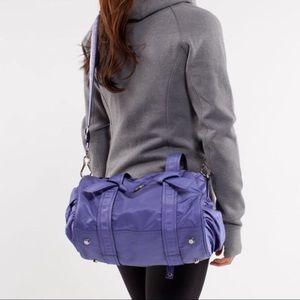 Lululemon DTB Purple Mini Duffle Bag